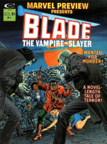 Il vampiro e il fumetto: la figura di Blade