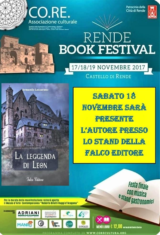 La leggenda di Leon presente al Rende Book Festival 2017