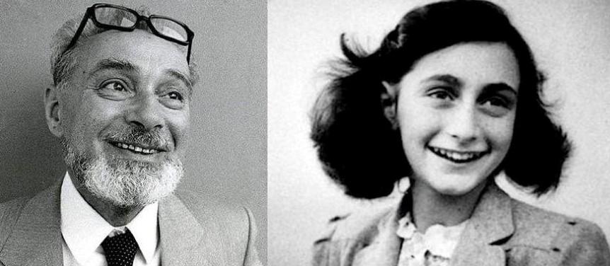 Anna Frank e Primo Levi, due eroi accomunati da una penna