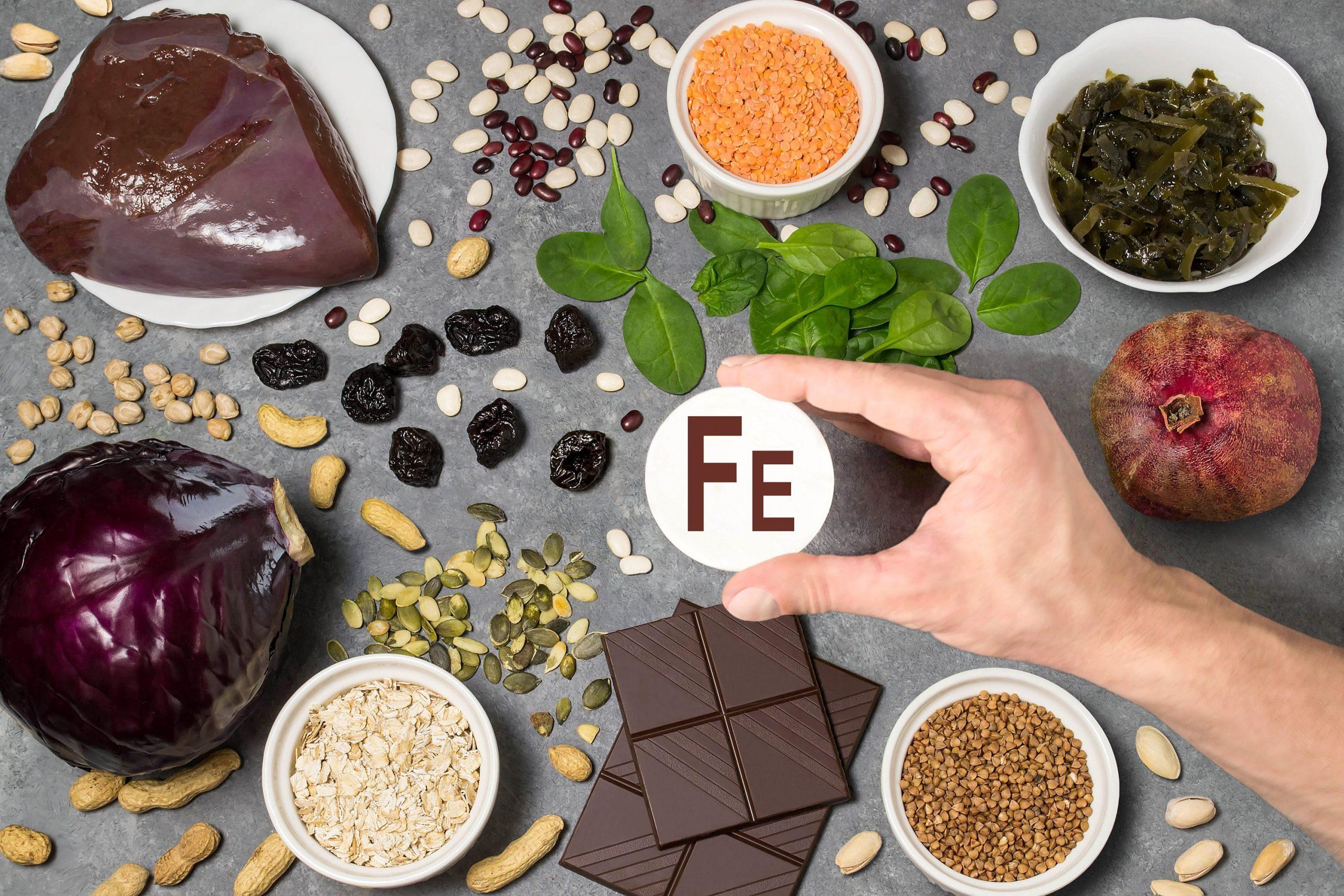 Alimentazione: gli alimenti ricchi di ferro