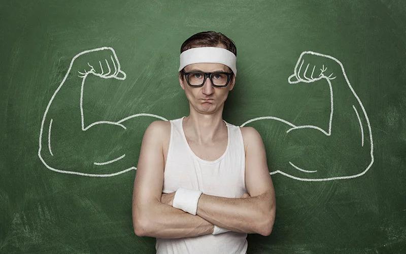 Non metto muscoli! Cause e errori